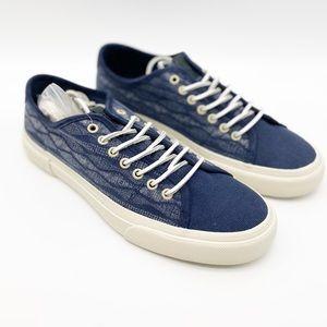 Frye men's ludlow canvas print sneaker